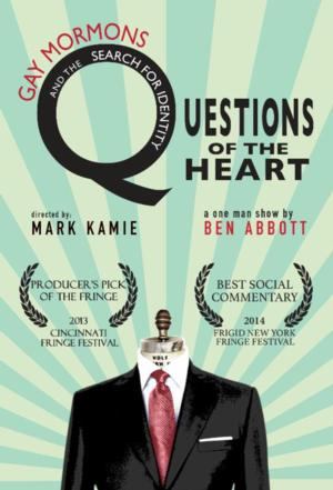 Theatre22 to Present Seattle Premiere of 'QUESTIONS OF THE HEART', 8/18-19