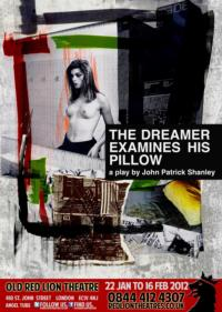 Lightning Jar Announce First UK Production Of THE DREAMER EXAMINES HIS PILLOW, At Old Red Lion, From Jan 2013