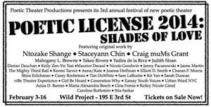 The Wild Project Announces POETIC LICENSE 2014: SHADES OF LOVE and 2014 Avant Music Festival