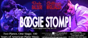 BOOGIE STOMP! to Begin Performances Off-Broadway on 5/8