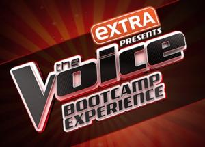 EXTRA & THE VOICE Team for 'The Voice Bootcamp Experience'