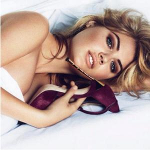 Kate Upton is the Face of Sam Edelman Again for Fall