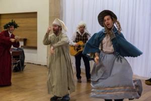 Week 2: Rehearsing DICKENS ABRIDGED
