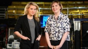 SNL Ratings Slip with Lena Dunham as Host