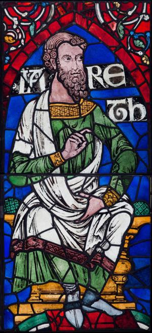 Stained Glass from Canterbury Cathedral on View in RADIANT LIGHT at The Cloisters, Beg. 2/25