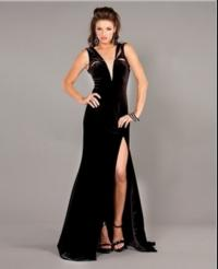 Deck the Halls in a Jovani Dress