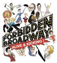 FORBIDDEN BROADWAY: ALIVE AND KICKING Cast Album Released Today