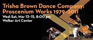 Northrop & Walker Art Center to Welcome Trisha Brown Dance Company, 3/12-15