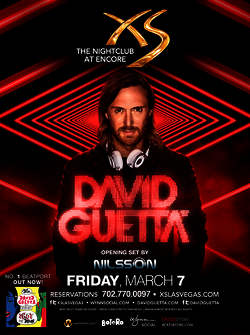 David Guetta's 2014 Vegas Residency at XS Las Vegas Launches Today