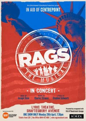 RAGS THE MUSICAL IN CONCERT to Play the Lyric Theatre, April 28