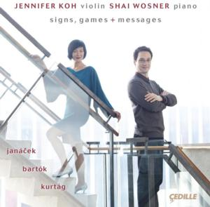Jennifer Koh & Shai Wosner to Release 'Signs, Games + Messages' on 10/29