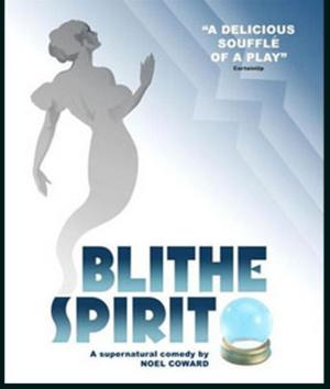 Noel Coward's Classic Blithe Spirit Continues 9th Texas Repertory Season