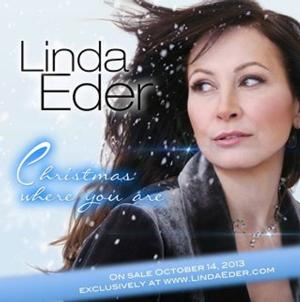 Linda Eder to Release CHRISTMAS WHERE YOU ARE Album on 10/14