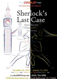 The Group Rep Presents SHERLOCK'S LAST CASE, 11/30-1/13