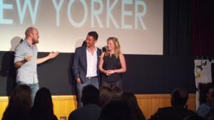 HOW TO BE A NEW YORKER Star Announces Engagement On Stage