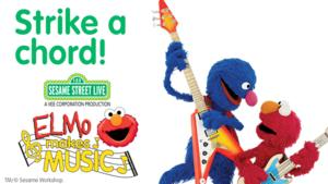 Wharton Center for the Performing Arts Presents SESAME STREET LIVE: ELMO MAKES MUSIC Today