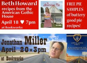 This Week at Bookworks Includes Beth Howard, Jonathan Miller and More