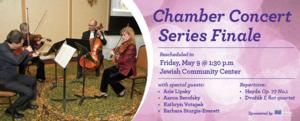 Ann Arbor Symphony Orchestra Presents CHAMBER CONCERT: SERIES FINALE, 5/9