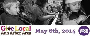 The Ann Arbor Symphony Orchestra to Take Part in GIVE LOCAL, 5/6