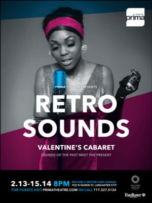 PRiMA Theatre Cancels 2/13 Performance of RETRO SOUNDS Due to Severe Weather
