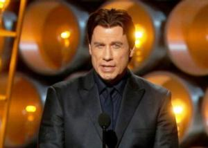 John Travolta Introduces Andrea Bocelli ... and Gets Name Right!