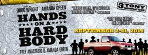 Ensemble Theatre Cincinnati to Open 29th Season with HANDS ON A HARDBODY, 9/2-21