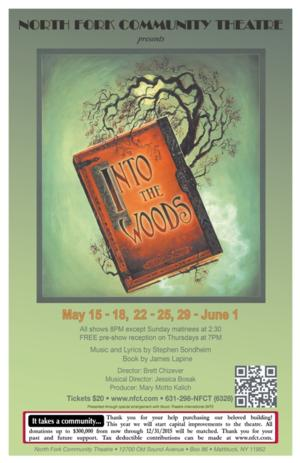NFCT Opens INTO THE WOODS Today