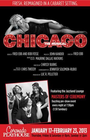CHICAGO Extends Through 3/2 at Coronado Playhouse