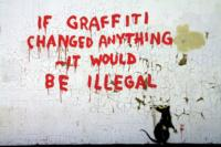 Famed British Graffiti Artist Banksy Featured in CONTEXT Art Miami