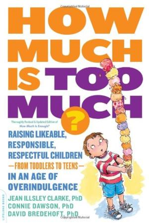 HOW MUCH IS TOO MUCH? by Jean Illsley Clarke, Connie Dawson and David Bredehoft is Available Now