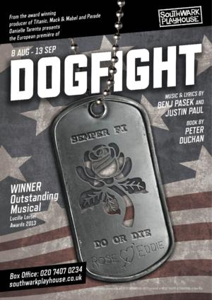 European Premiere of Award-Winning Musical DOGFIGHT to Open at Southwark Playhouse, 8/8-9/13