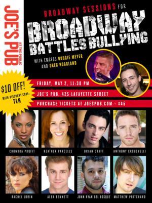 Chondra Profit, Heather Parcells & More Set for Broadway Battles Bullying at Joe's Pub, 5/2
