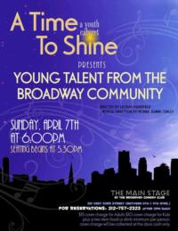 Melissa Rocco, Henry Hodges, Jon Viktor Corpuz and More Set for A Time To Shine Youth Cabaret, 4/7