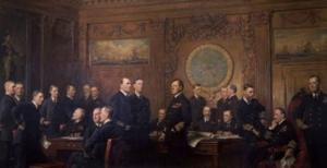 National Portrait Gallery Displays NAVAL OFFICERS OF WORLD WAR I for the First Time In 50 Years Today