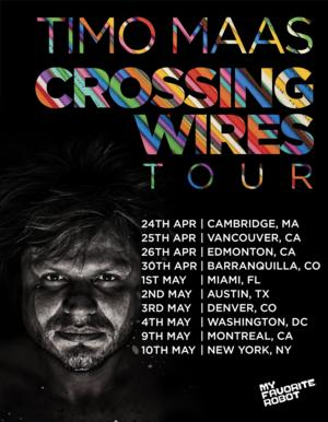Timo Maas Kicks Off North American 'Crossing Wires' Tour