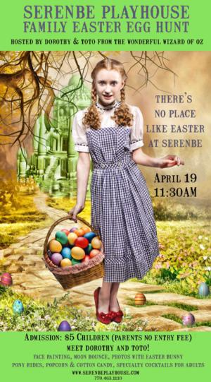 Serenbe Playhouse Celebrates Easter with 'Naughty Egg Hunt' and 'Family Easter Egg Hunt' This Weekend