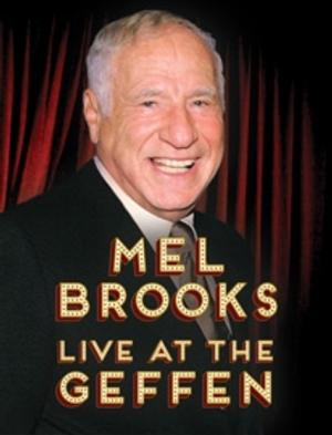 MEL BROOKS to Perform One-Night Only Solo Show at Geffen Playhouse