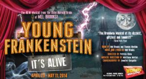 Palo Alto Players Present YOUNG FRANKENSTEIN, 4/25-5/11