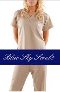 Blue Sky Scrubs Mixes Fashion and Function
