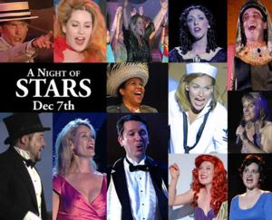 A NIGHT OF STARS IN CONCERT to Benefit Summer Theatre of New Canaan Set for 12/7