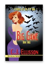 C.J. Ellisson's New Vampire Novel, BIG GAME, Available Now