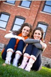 Twin Sisters from Columbia College of Missouri Create Boots for Every Mood