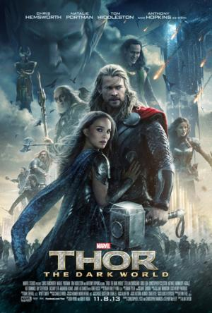 THOR: THE DARK WORLD Smashes Weekend Box Office with $86.1 Million