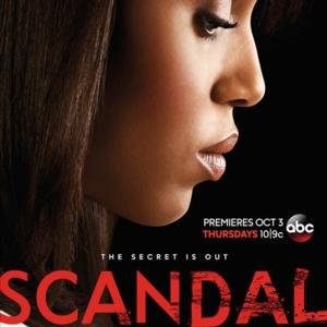 ABC's SCANDAL Finishes a Dominant #1 in Time Slot