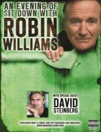 Robin Williams, David Steinberg to Host Sit Down at DPAC, 1/26/2013