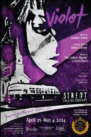 BWW Reviews: Self-Acceptance and Self-Discovery in VIOLET at Street Theatre Company