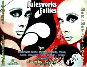 The Julesworks Follies to Present 24th Edition of Santa Fe's Monthly Variety Show, 3/31