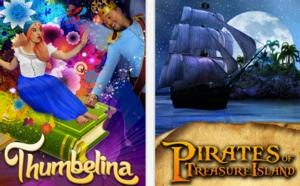 Creating Arts Company Presents THUMBELINA and PIRATES OF TREASURE ISLAND, 6/7 - 7/6