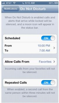 Apple New Year's Eve Day iOS Bug for 'Do Not Disturb'