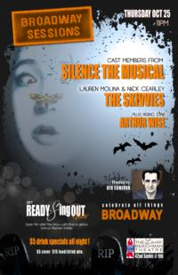 Broadway Sessions Welcomes SILENCE! THE MUSICAL, The Skivvies and More Tonight, 10/25